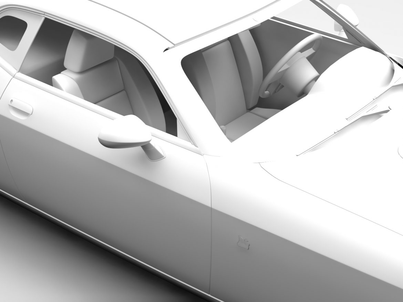 Dodge Challenger 392 Shaker (LC) 2016 Flying ( 379KB jpg by CREATOR_3D )