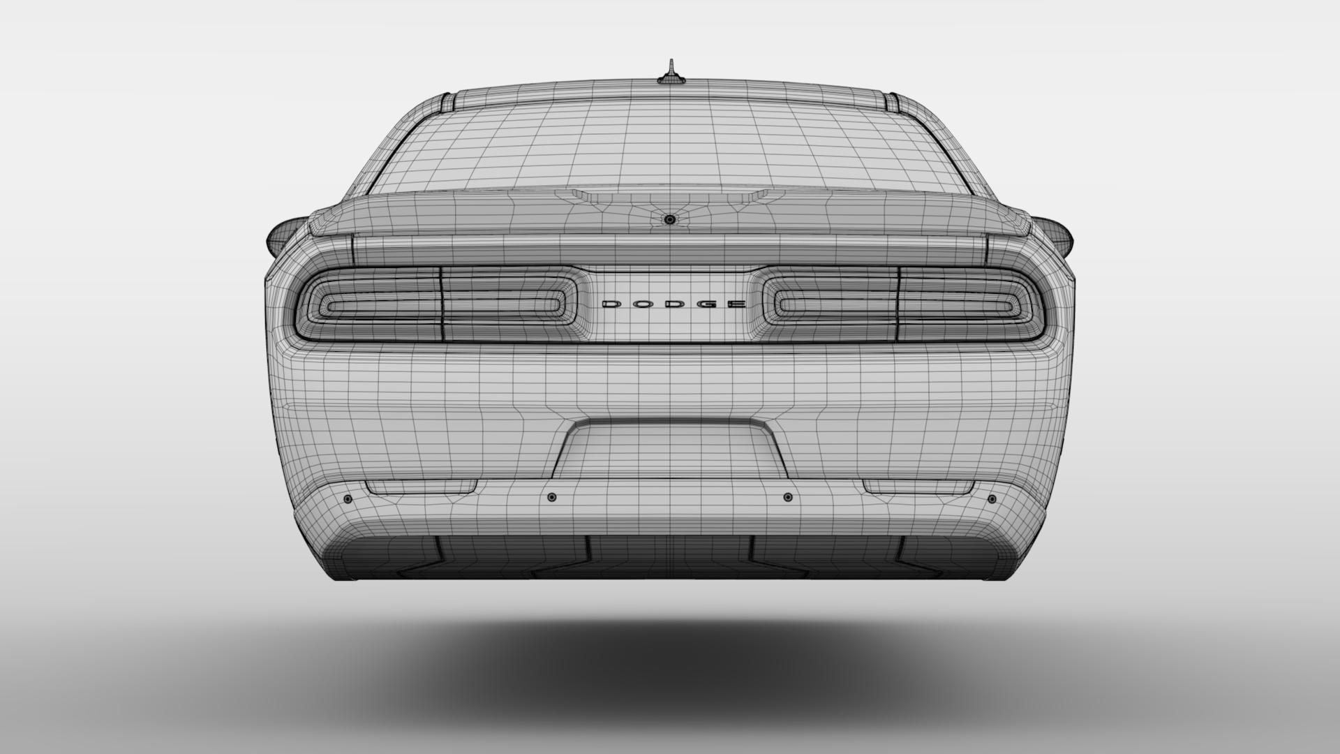 Dodge Challenger 392 shaker (lc) 2016 yn hedfan model 3d 3ds max fbx c4d ar gyfer yr hrc xsi obj 220618