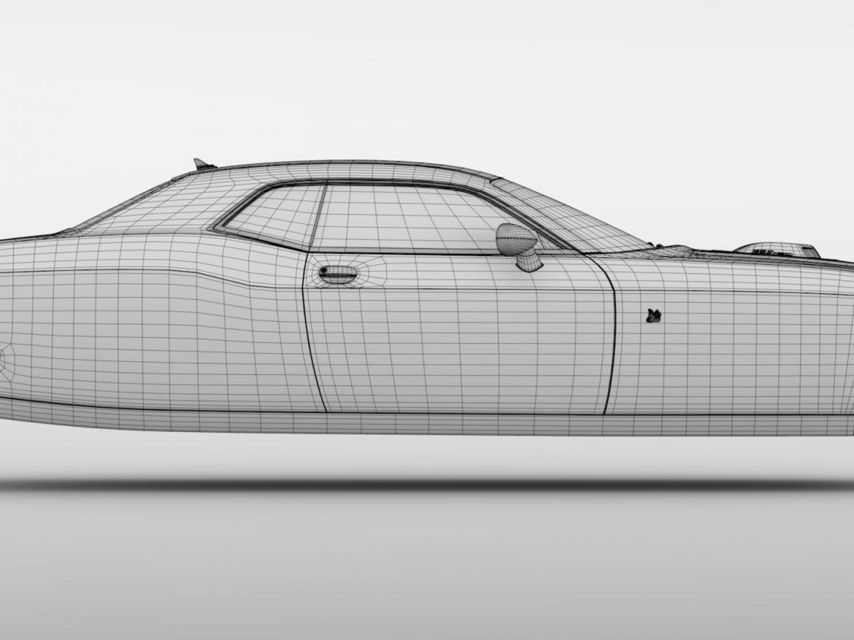 Dodge Challenger 392 Shaker (LC) 2016 Flying ( 406.52KB jpg by CREATOR_3D )