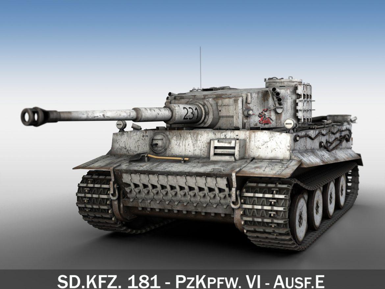 Panzer VI - Tiger - 231 - Early Production ( 314.89KB jpg by Panaristi )