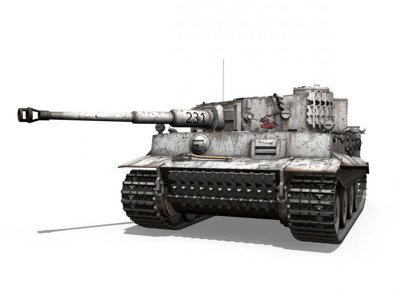 Panzer VI - Tiger - 231 - Early Production ( 200.03KB jpg by Panaristi )