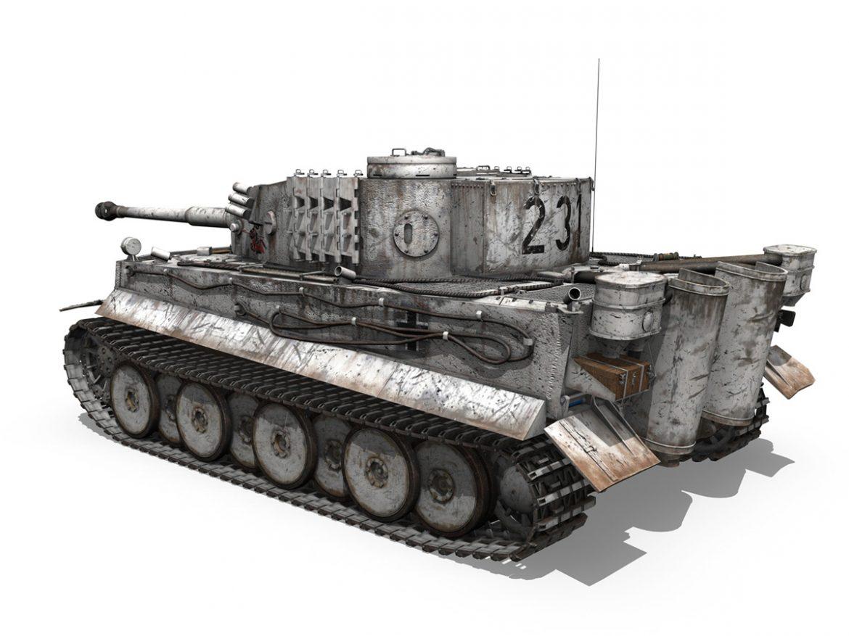 Panzer VI - Tiger - 231 - Early Production ( 270.25KB jpg by Panaristi )