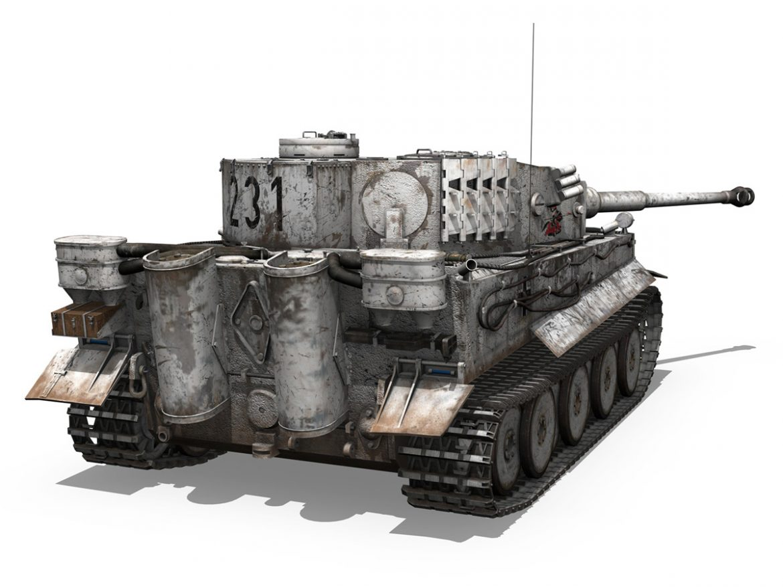 Panzer VI - Tiger - 231 - Early Production ( 256.46KB jpg by Panaristi )