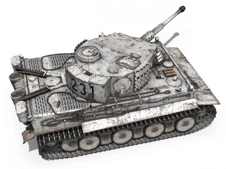 Panzer VI - Tiger - 231 - Early Production ( 376.61KB jpg by Panaristi )