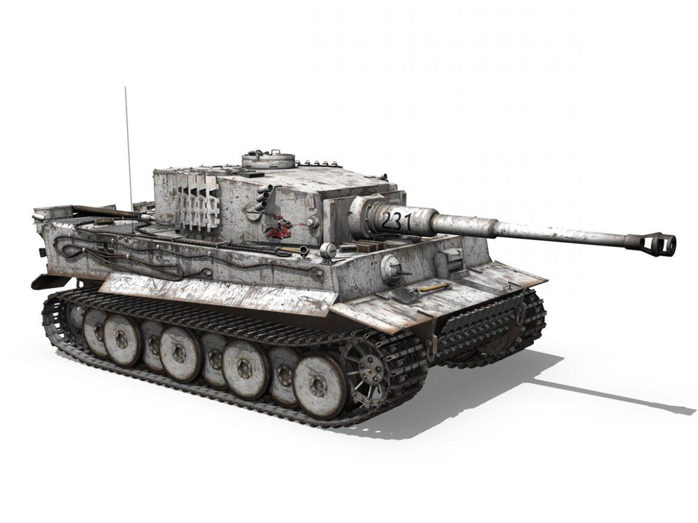 Panzer VI - Tiger - 231 - Early Production ( 223.89KB jpg by Panaristi )
