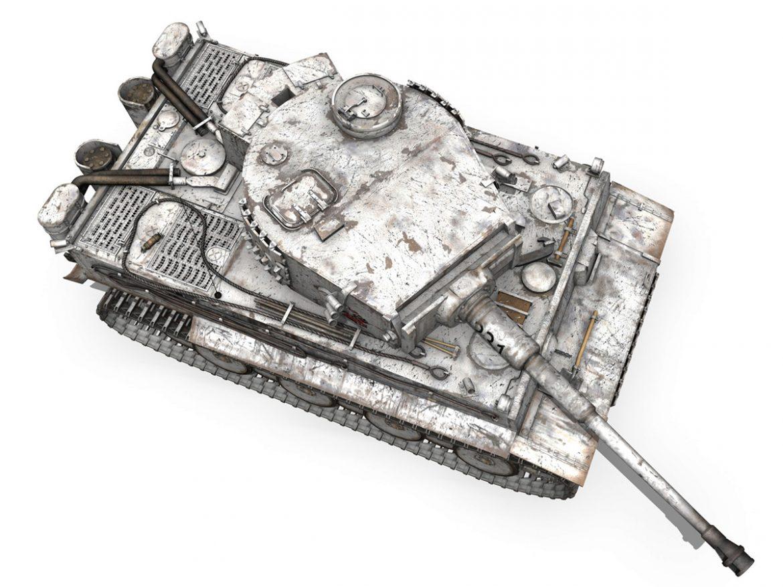Panzer VI - Tiger - 231 - Early Production ( 336.83KB jpg by Panaristi )