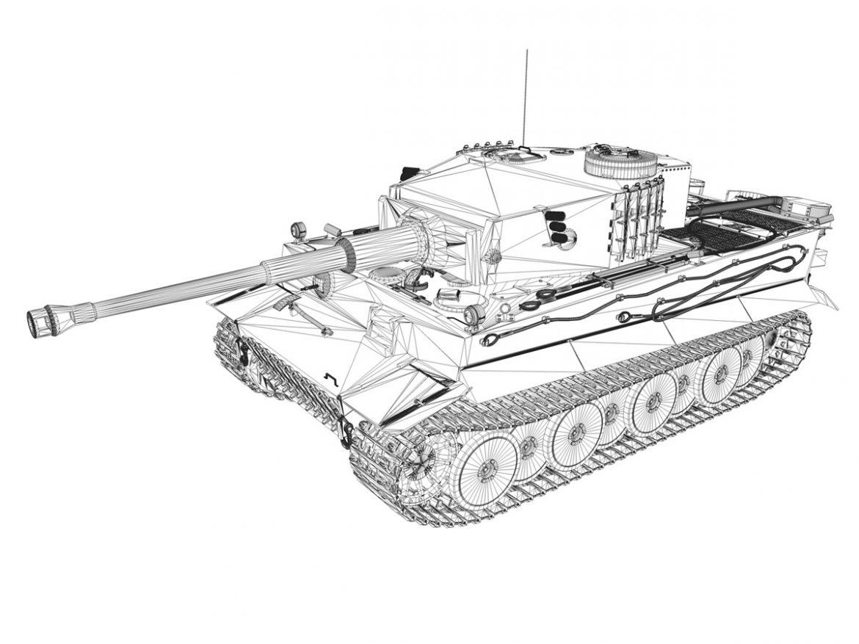 Panzer VI - Tiger - 231 - Early Production ( 237.05KB jpg by Panaristi )