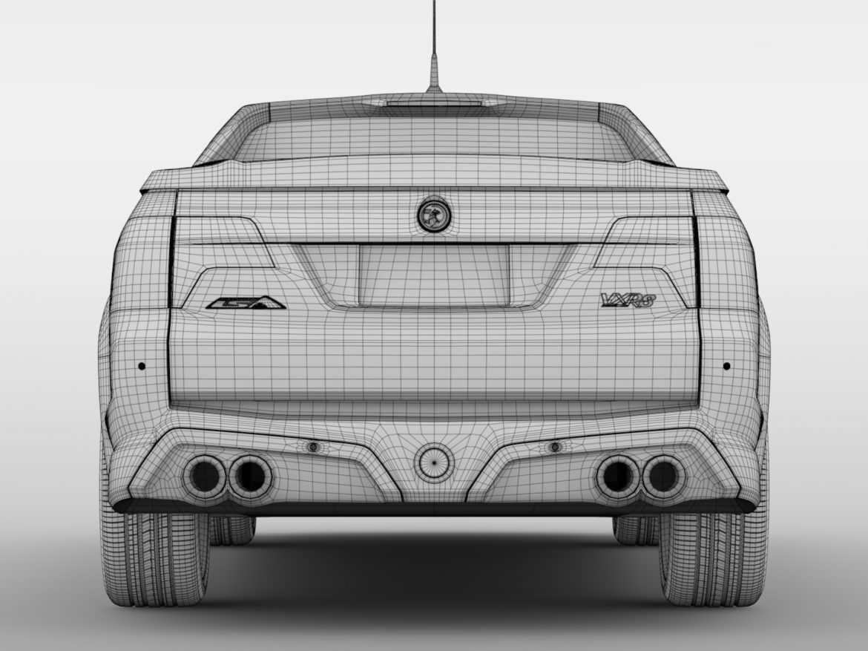 Vauxhall VXR8 Maloo 2016 ( 557.16KB jpg by CREATOR_3D )