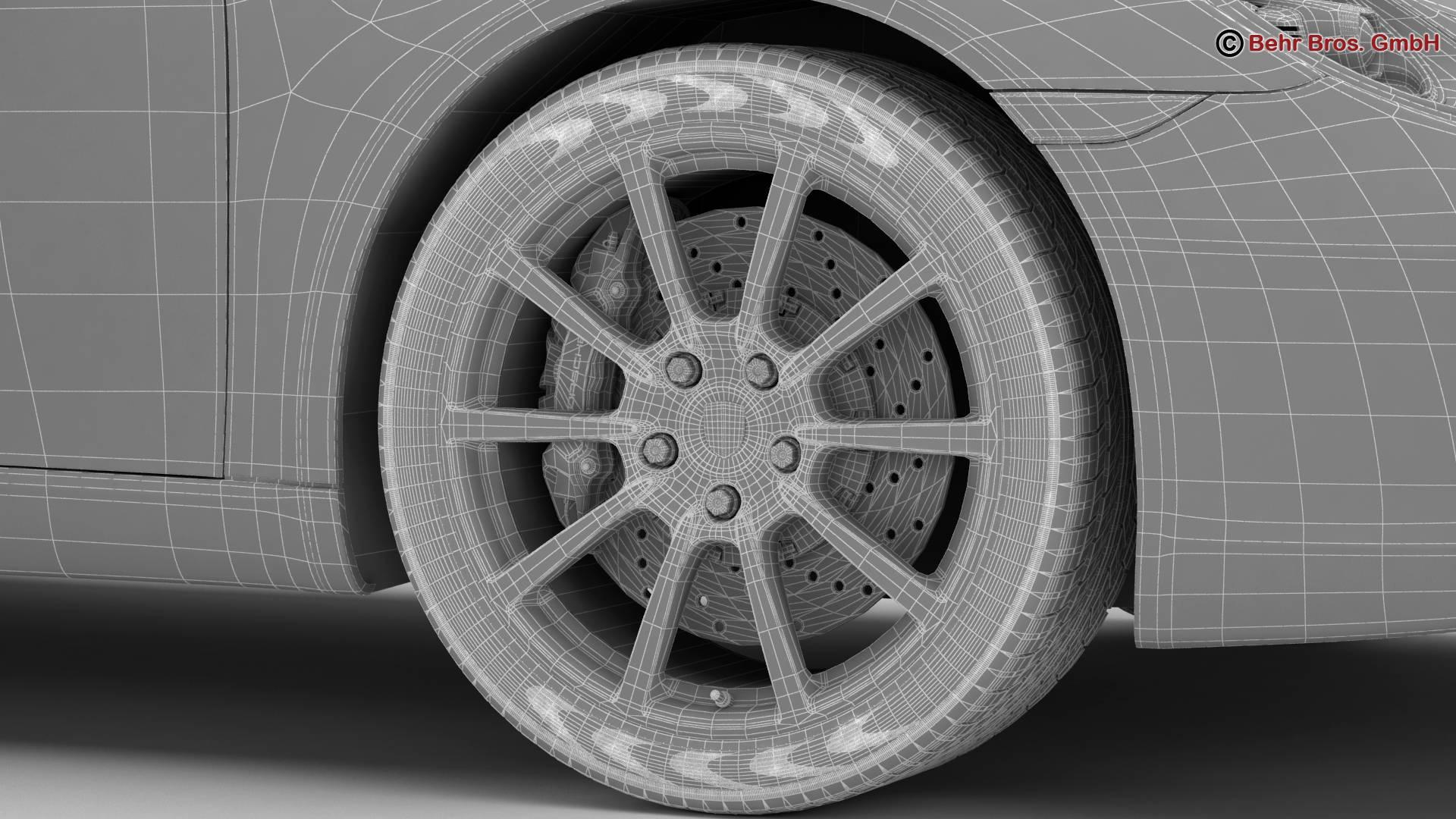 porsche 911 carrera cabriolet 2017 3d model 3ds max fbx c4d lwo ma mb obj 220813