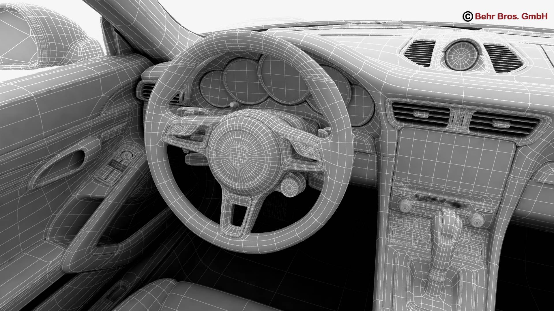 porsche 911 carrera cabriolet 2017 3d líkan 3ds max fbx c4d lwo ma mb obj 220819