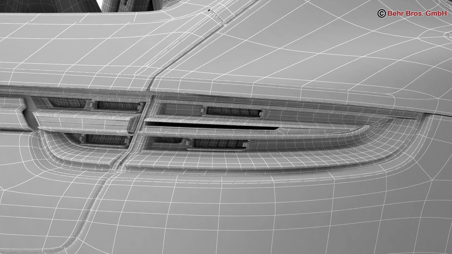 porsche panamera turbo 2017 3d model 3ds max fbx c4d lwo ma mb obj 220847