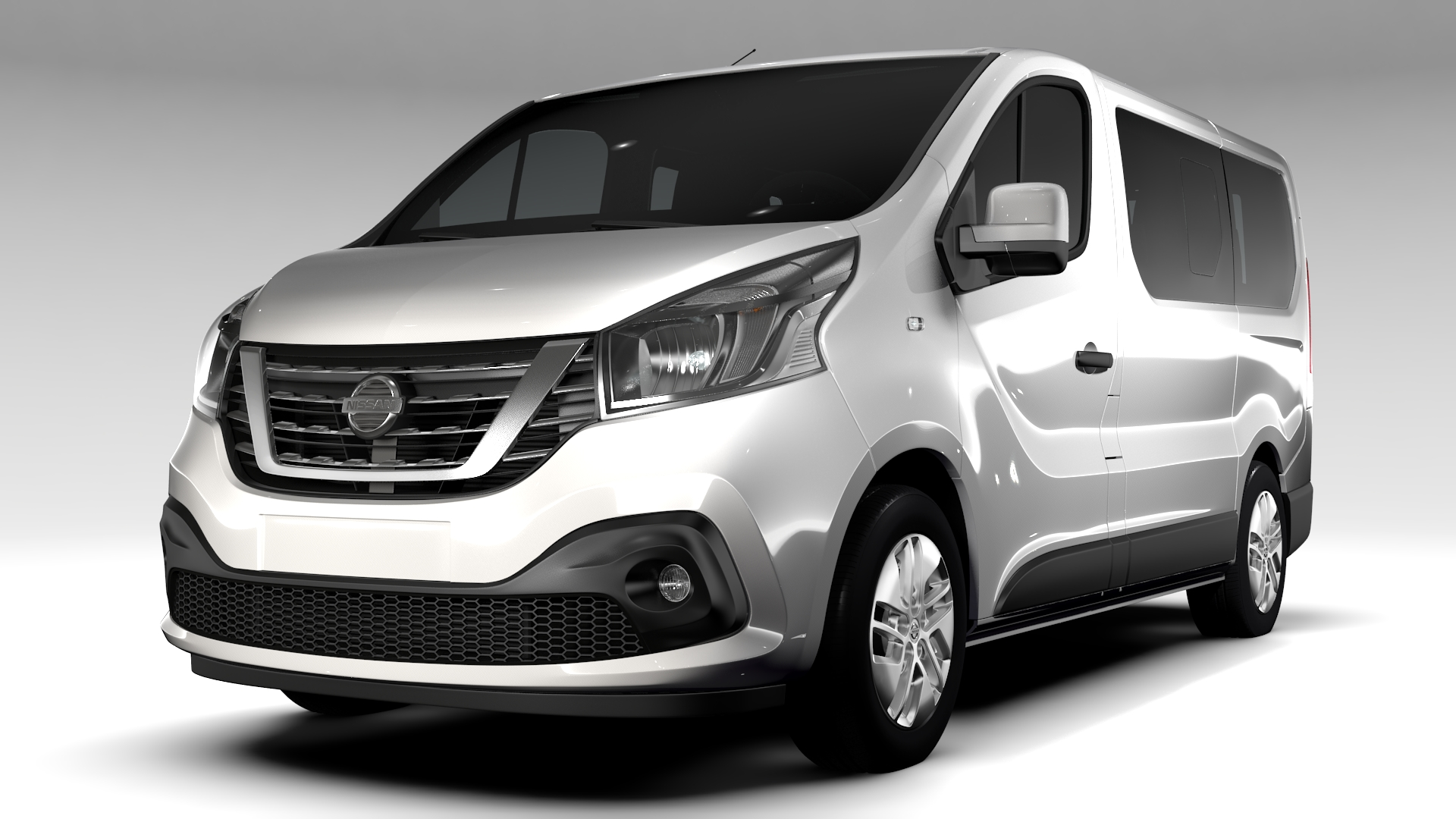 nissan nv 300 combi 2016 3d model 3ds max fbx c4d le do thoil 220854