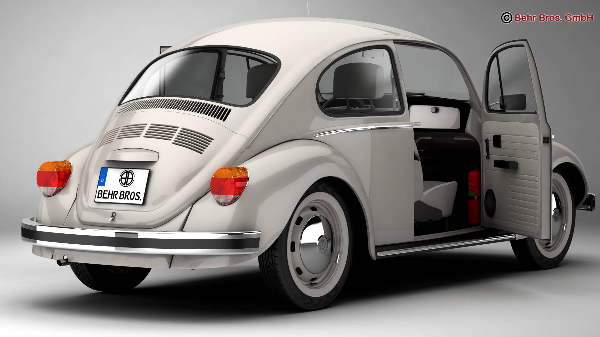 volkswagen beetle 2003 ultima edicion 3d model 3ds max fbx c4d lwo ma mb obj 220881