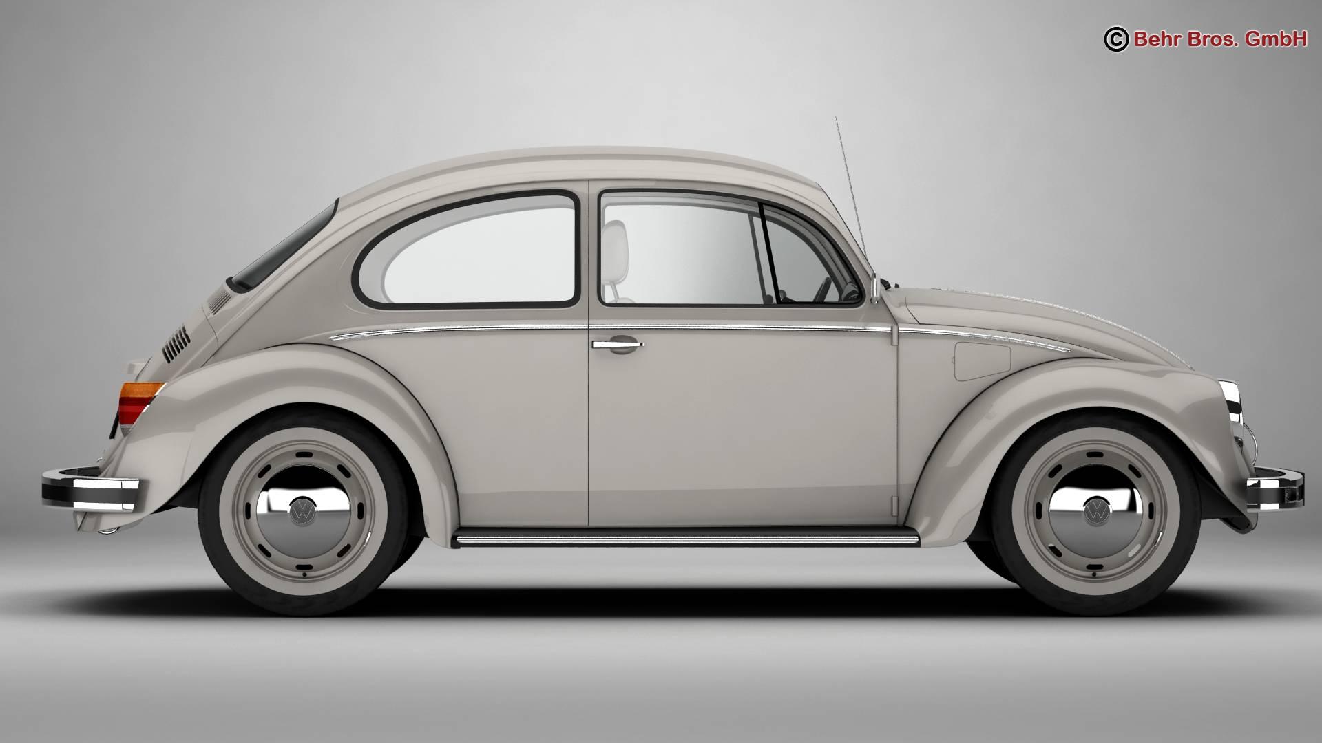 volkswagen beetle 2003 ultima edicion 3d model 3ds max fbx c4d lwo ma mb obj 220882