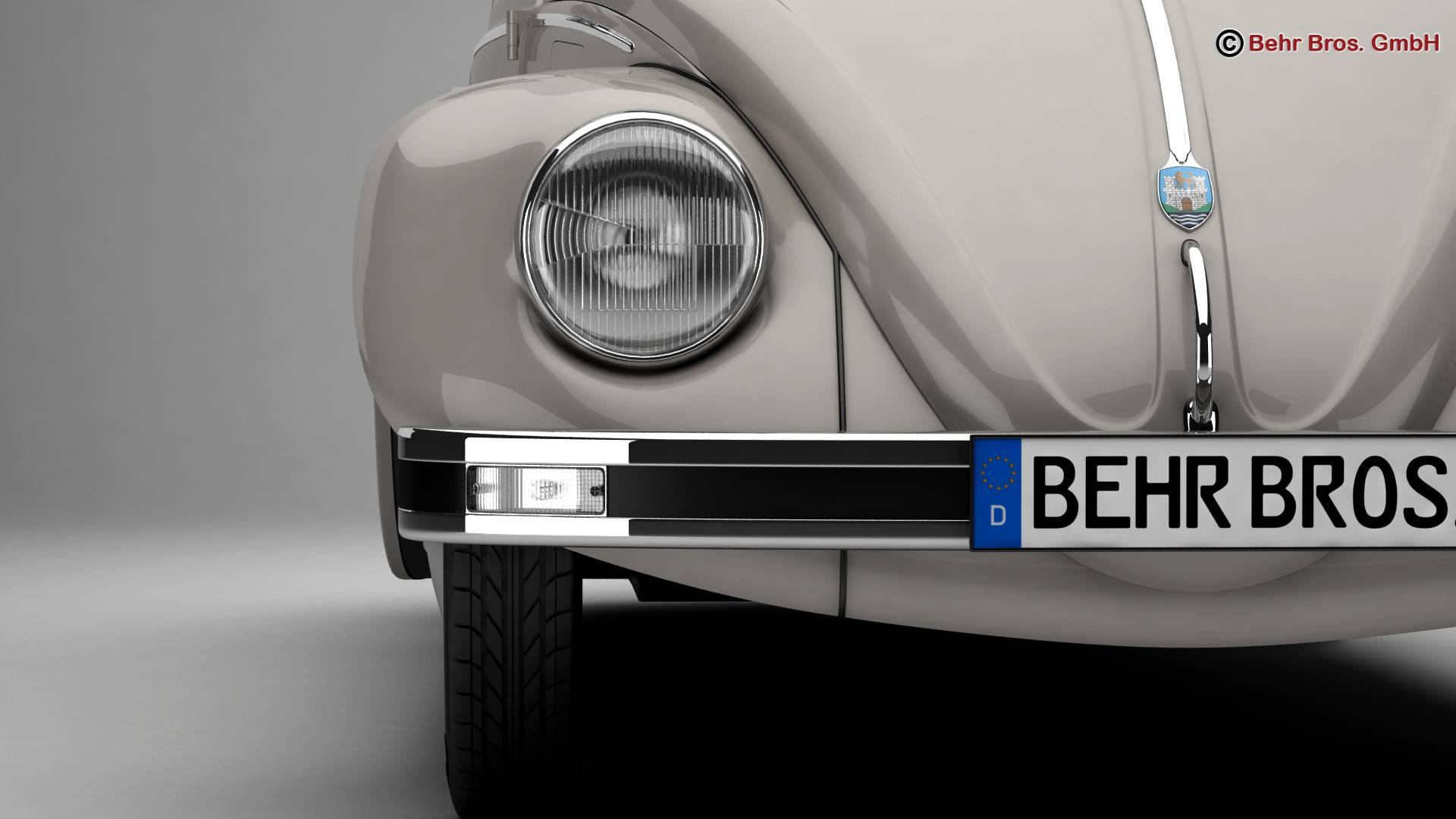 volkswagen beetle 2003 ultima edicion 3d model 3ds max fbx c4d lwo ma mb obj 220884