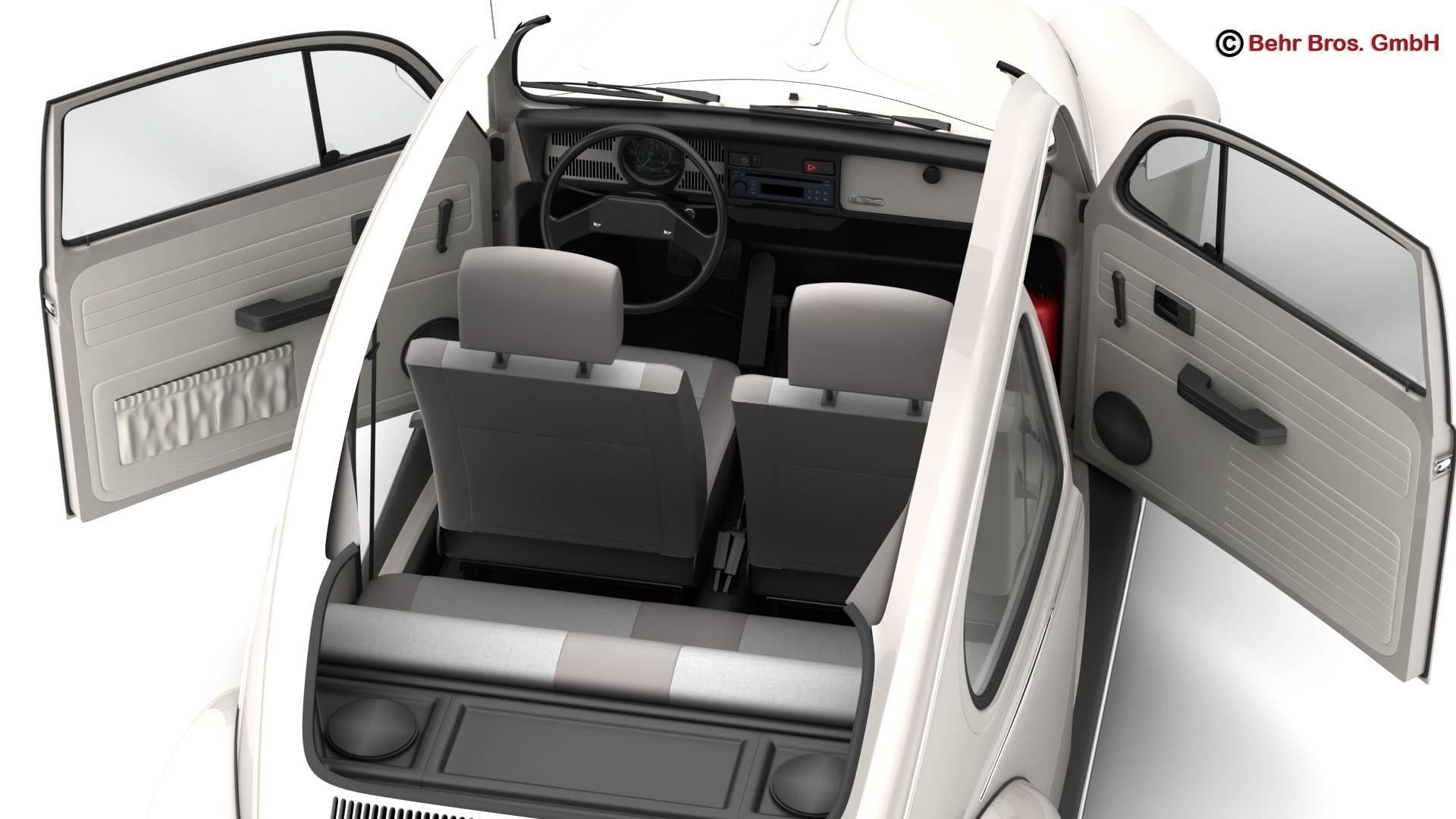 volkswagen beetle 2003 ultima edicion 3d model 3ds max fbx c4d lwo ma mb obj 220889