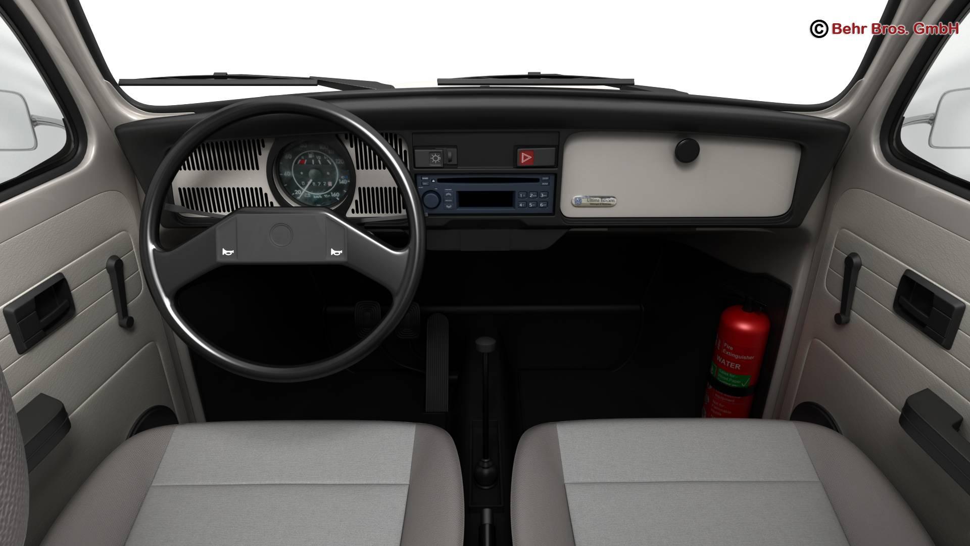 volkswagen beetle 2003 ultima edicion 3d model 3ds max fbx c4d lwo ma mb obj 220890