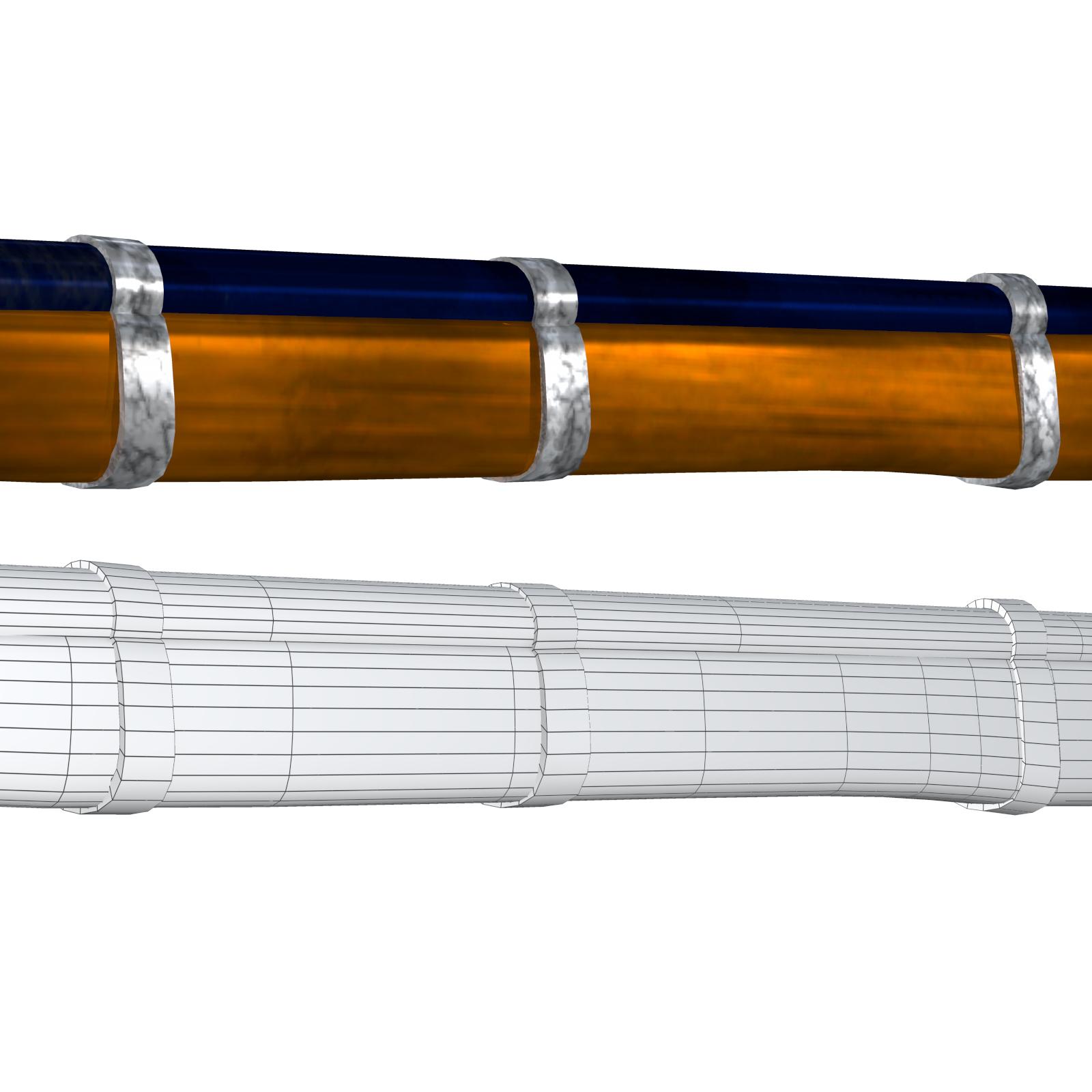 cap-n-ball rifle fbx obj 3d model fbx 220986