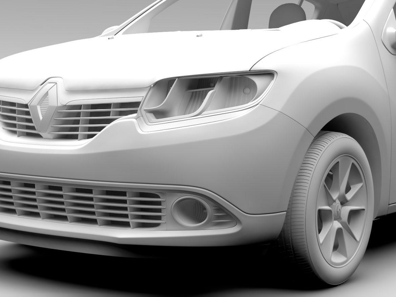 Renault Sandero 2015 ( 494.67KB jpg by CREATOR_3D )