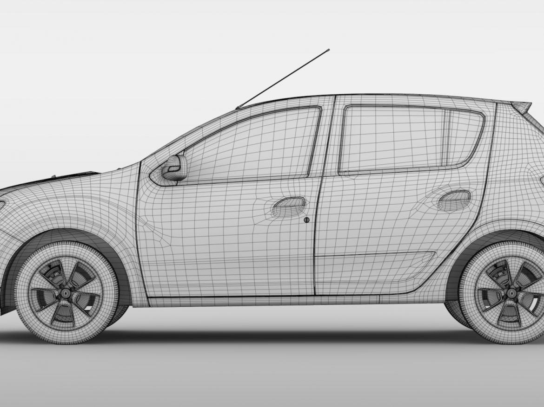 Renault Sandero 2015 ( 653.31KB jpg by CREATOR_3D )