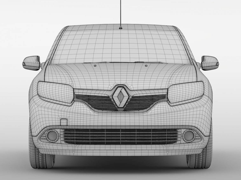 Renault Sandero 2015 ( 579.37KB jpg by CREATOR_3D )