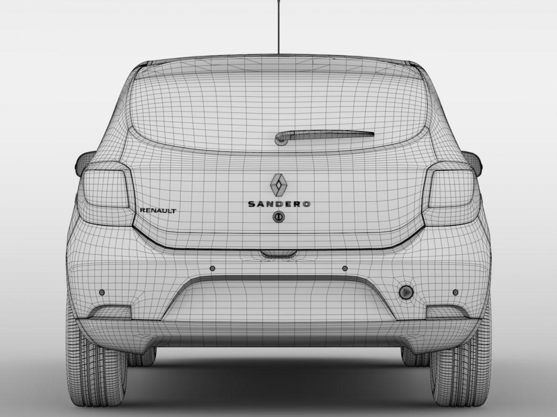 Renault Sandero 2015 ( 536.65KB jpg by CREATOR_3D )