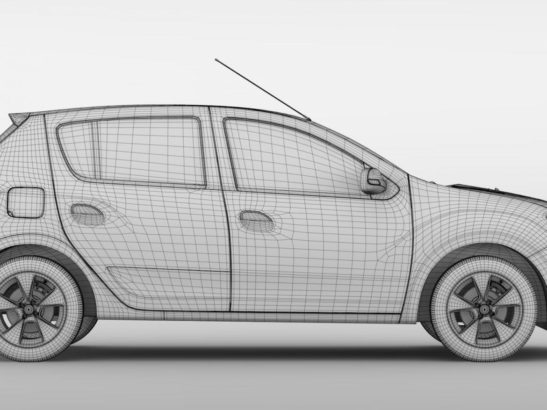 Renault Sandero 2015 ( 665.8KB jpg by CREATOR_3D )