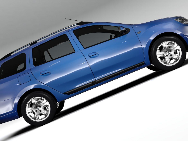 Dacia Logan MCV 2016 ( 599.17KB jpg by CREATOR_3D )