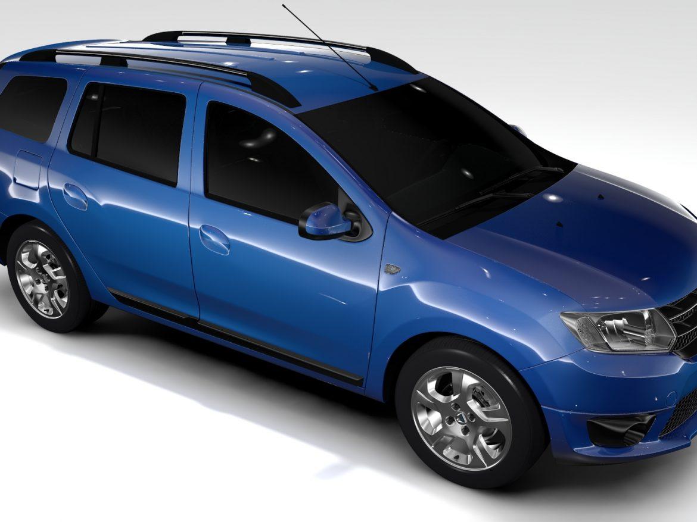 Dacia Logan MCV 2016 ( 642.56KB jpg by CREATOR_3D )
