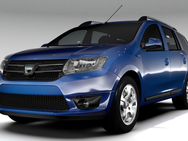 Dacia Logan MCV 2016 ( 687.71KB jpg by CREATOR_3D )