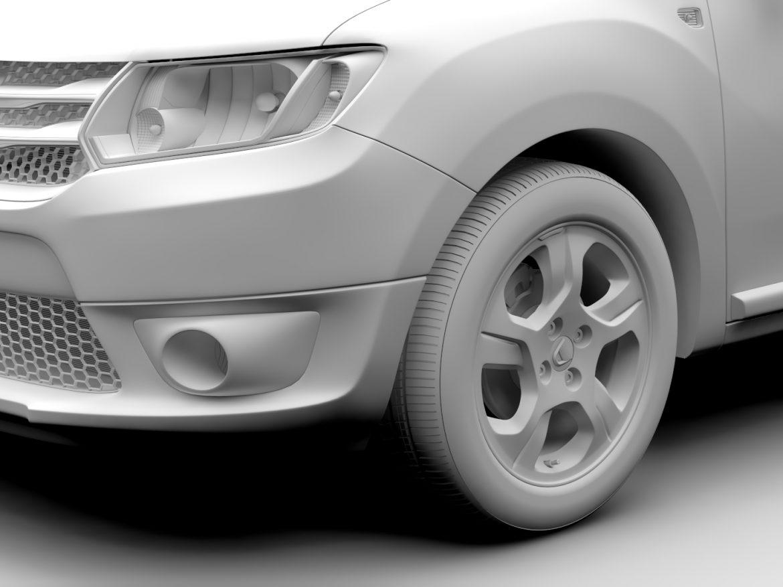 Dacia Logan MCV 2016 ( 502.39KB jpg by CREATOR_3D )