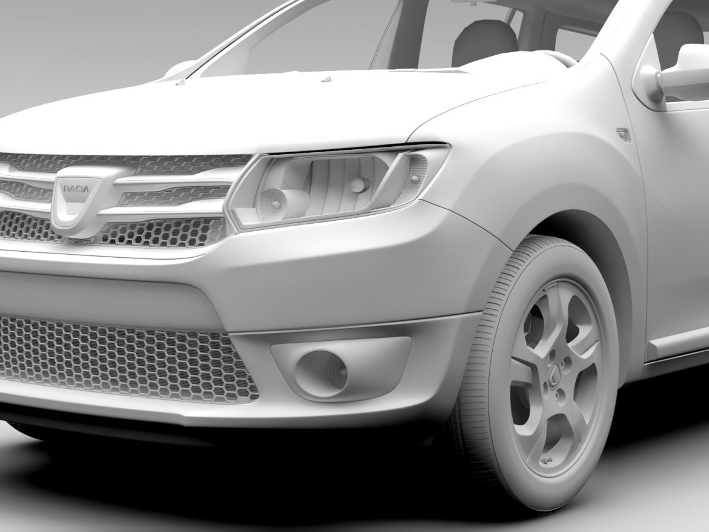 Dacia Logan MCV 2016 ( 533.95KB jpg by CREATOR_3D )