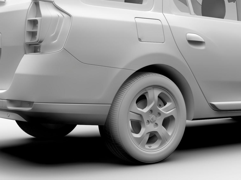 Dacia Logan MCV 2016 ( 447.52KB jpg by CREATOR_3D )
