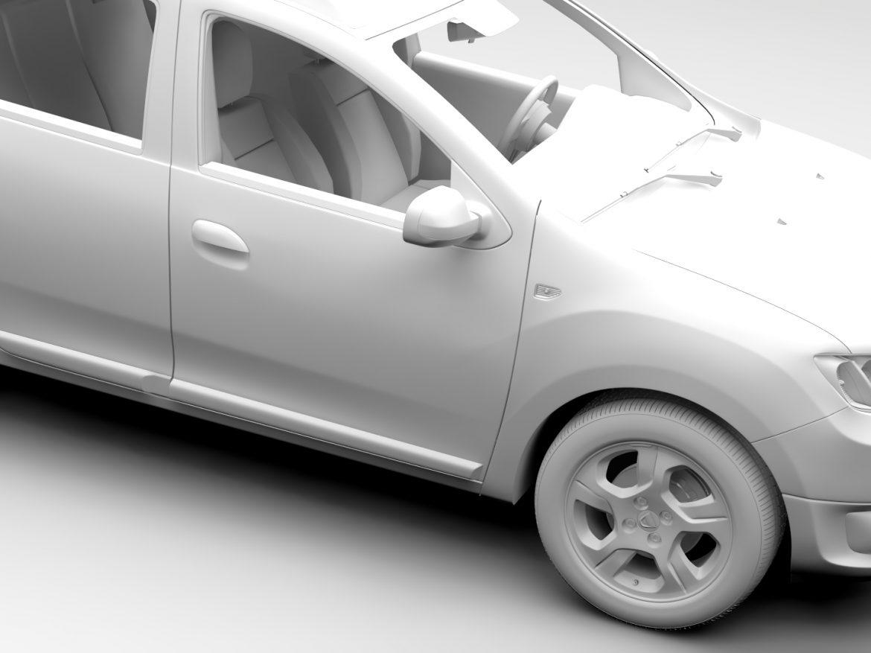 Dacia Logan MCV 2016 ( 466.09KB jpg by CREATOR_3D )