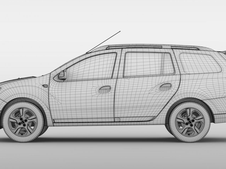 Dacia Logan MCV 2016 ( 641.92KB jpg by CREATOR_3D )