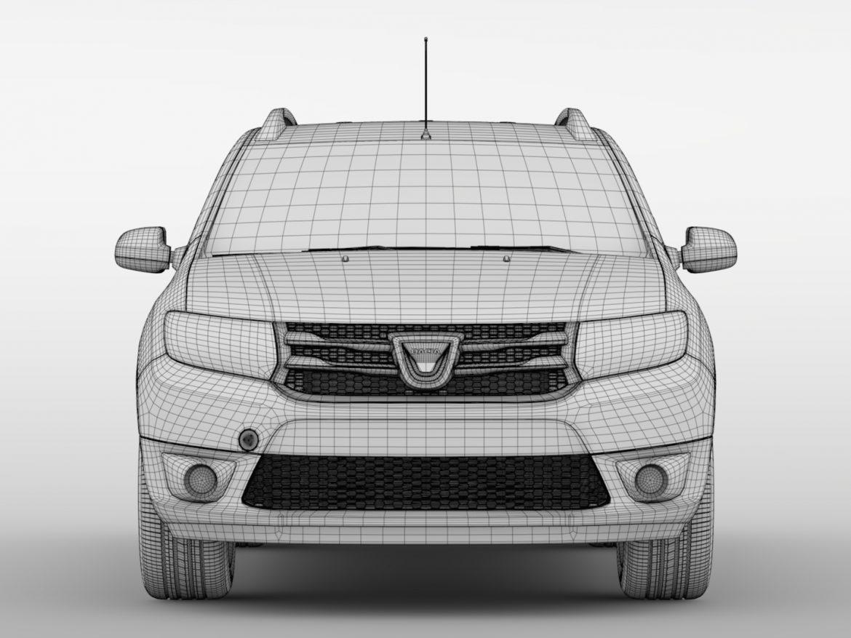 Dacia Logan MCV 2016 ( 519.93KB jpg by CREATOR_3D )