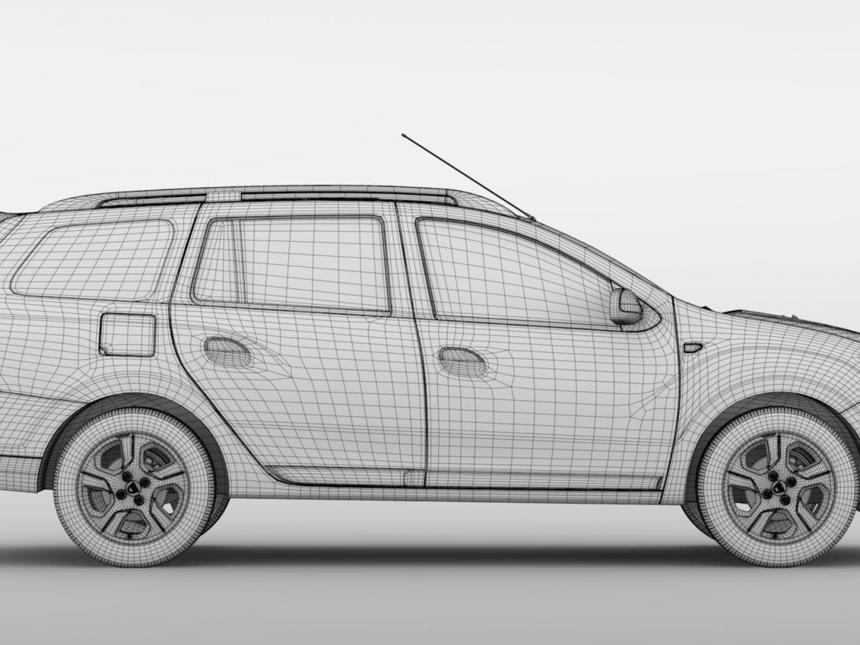 Dacia Logan MCV 2016 ( 652.64KB jpg by CREATOR_3D )