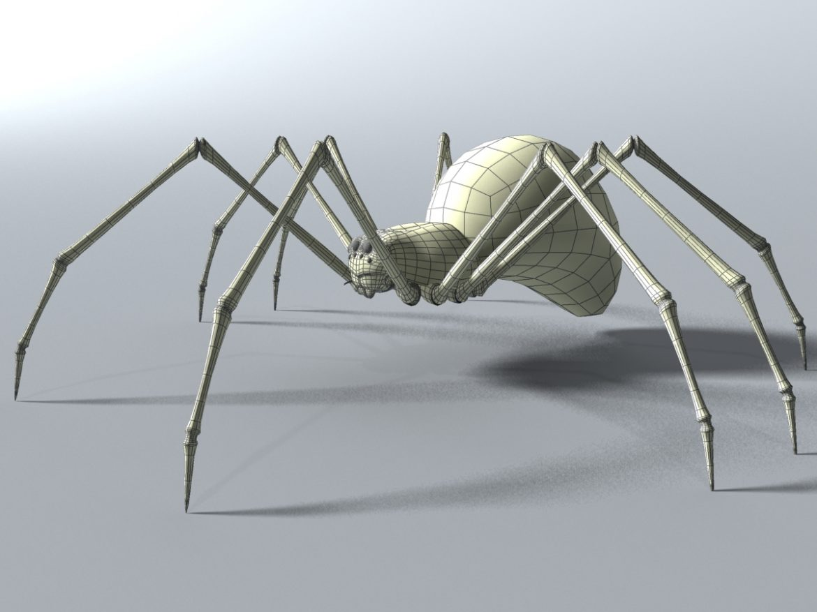 Black Spider Rigged ( 552.52KB jpg by supercigale )