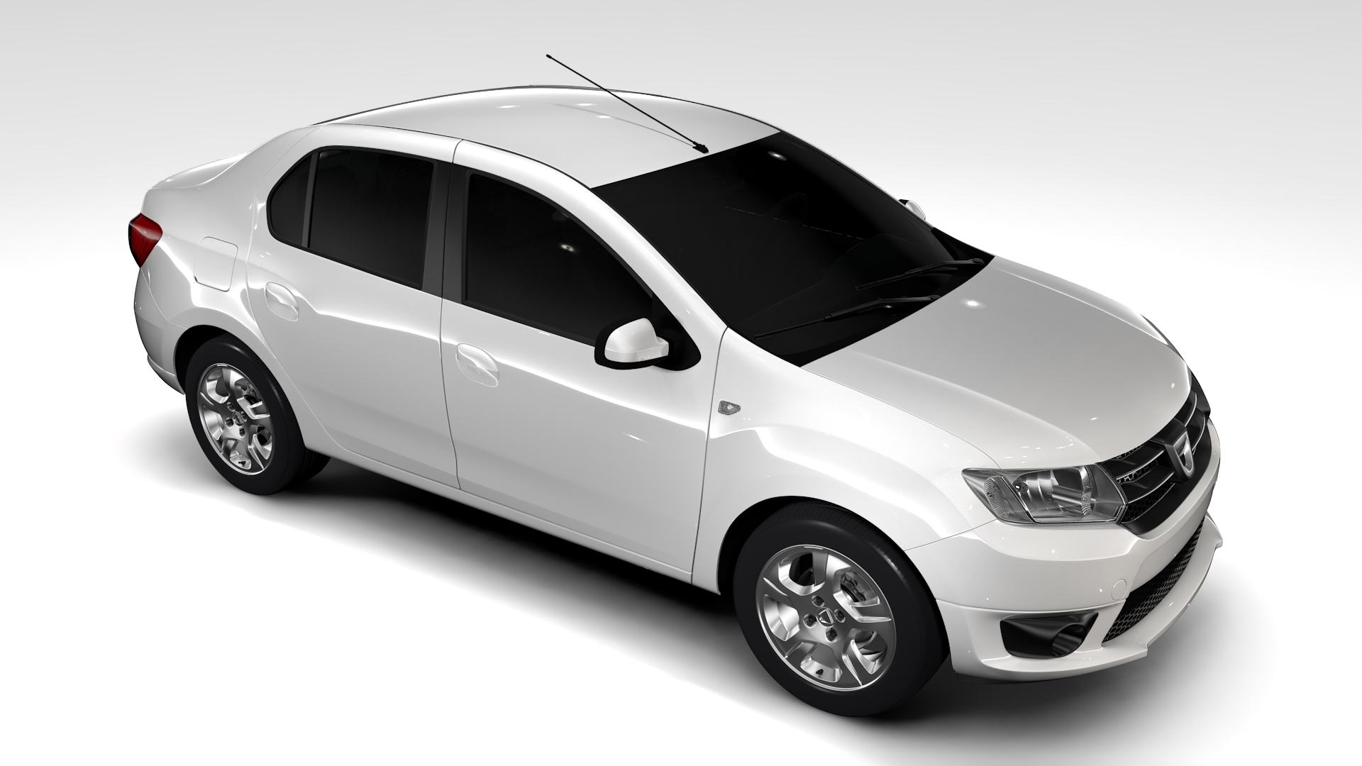 dacia logan 2015 3d model buy dacia logan 2015 3d model flatpyramid. Black Bedroom Furniture Sets. Home Design Ideas