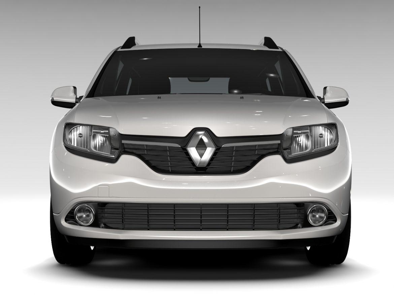 Renault Logan MCV 2016 ( 467.14KB jpg by CREATOR_3D )