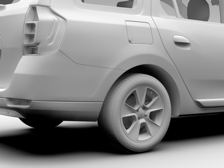 Renault Logan MCV 2016 ( 447.54KB jpg by CREATOR_3D )