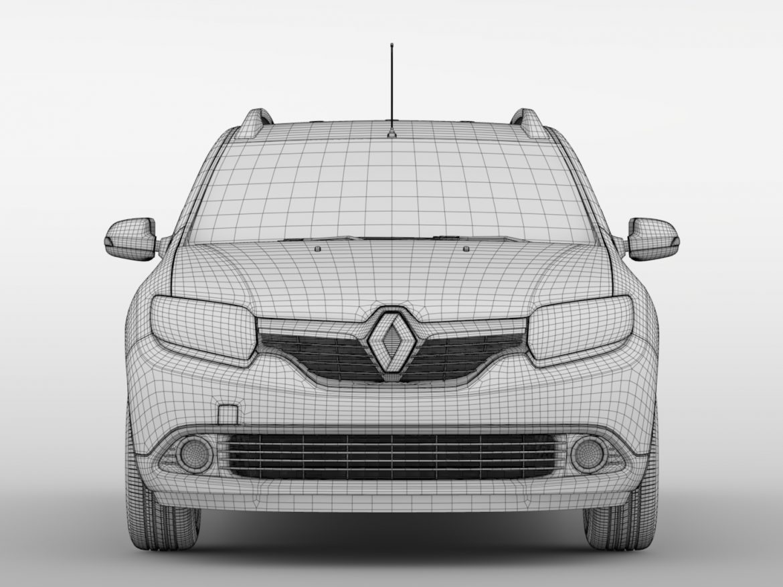 Renault Logan MCV 2016 ( 515.31KB jpg by CREATOR_3D )