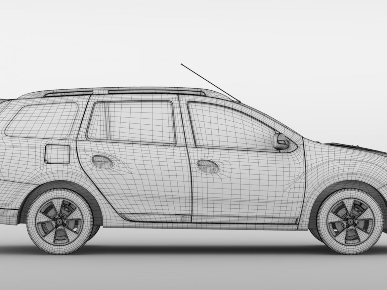 Renault Logan MCV 2016 ( 640.39KB jpg by CREATOR_3D )