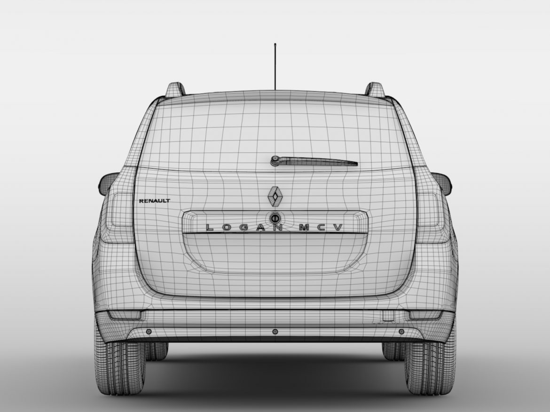 Renault Logan MCV 2016 ( 419.53KB jpg by CREATOR_3D )