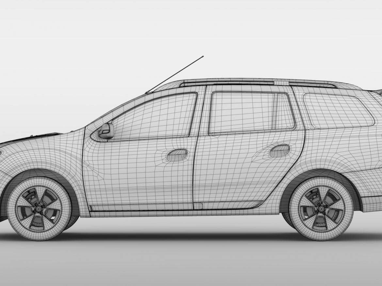 Renault Logan MCV 2016 ( 627.67KB jpg by CREATOR_3D )