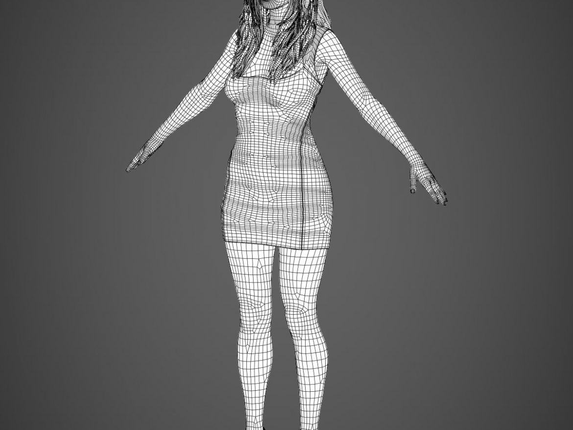 Young Sexy Woman ( 426.36KB jpg by cghuman )