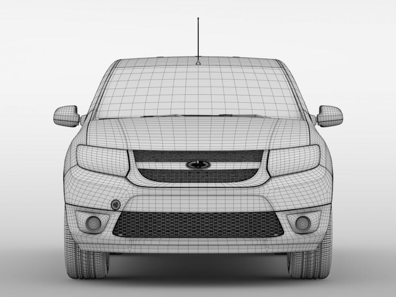 Lada Largus Furgon 2016 ( 525.79KB jpg by CREATOR_3D )