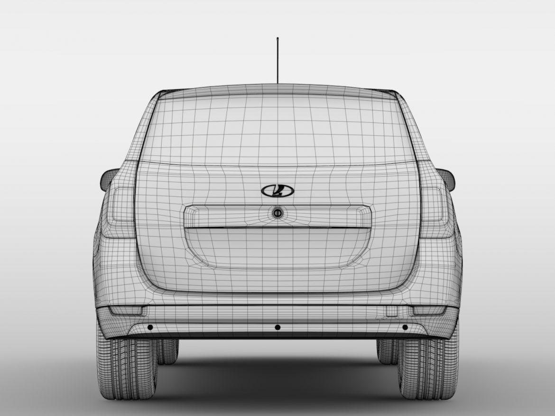 Lada Largus Furgon 2016 ( 420.14KB jpg by CREATOR_3D )