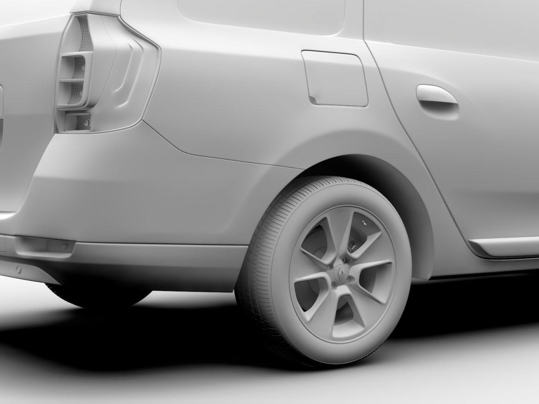 Renault Logan VAN 2016 ( 419.53KB jpg by CREATOR_3D )