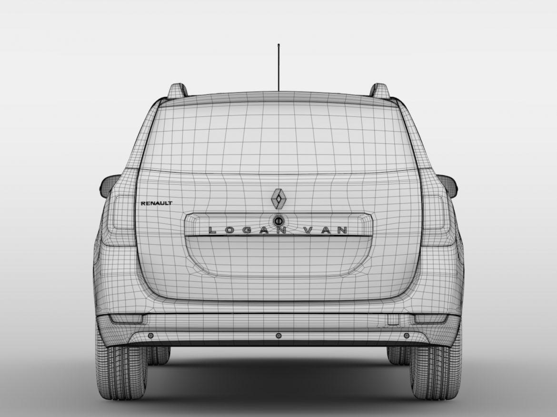 Renault Logan VAN 2016 ( 415.16KB jpg by CREATOR_3D )